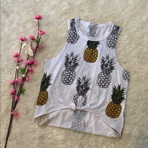 Chaser pineapple print tank